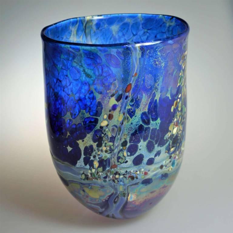 Shakspeare Glass - Extra Large Lustre Rocks Open