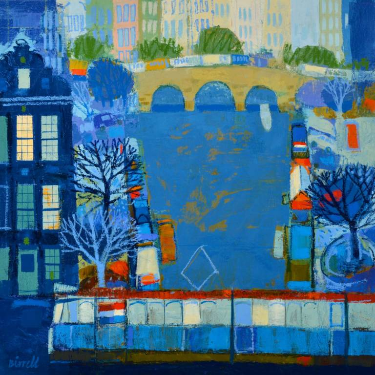 George Birrell - Houseboats And Tram