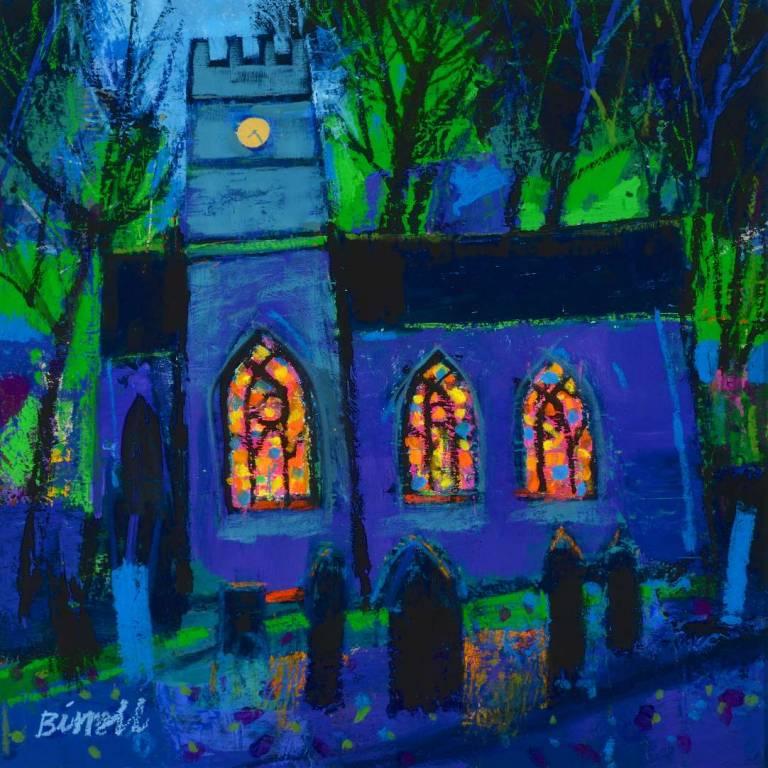 George Birrell - Evening Church