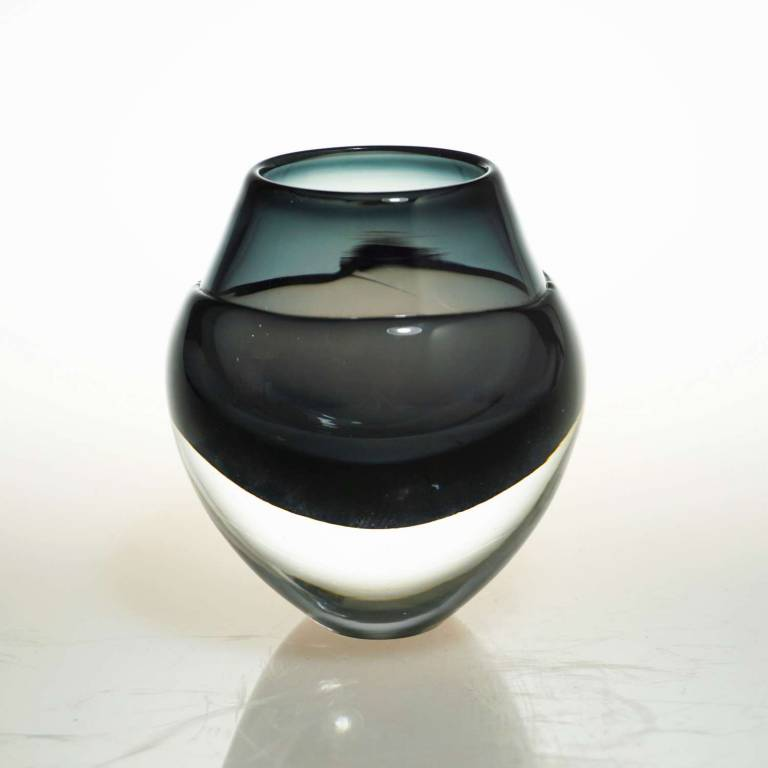 Elin Isaksson - Liquid Ice Candle Holder Black