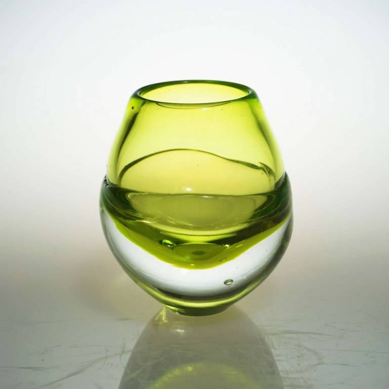 Elin Isaksson - Liquid Ice Candle Holder Yellow
