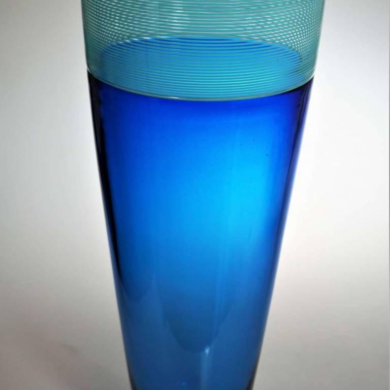 Large Threaded Vase