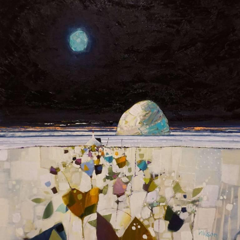 Gordon Wilson - Moonbasking Ailsa Craig