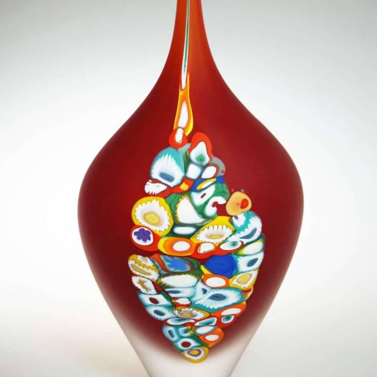 Red Millie Vase