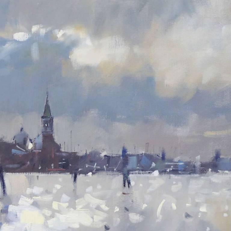 Peter Foyle - Light On The Lagoon, Venice