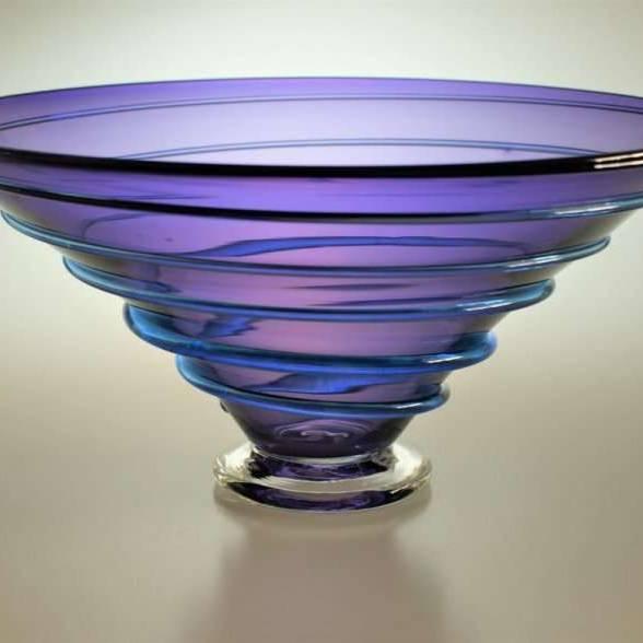 Large Spiral Bowl (BCR303/18)
