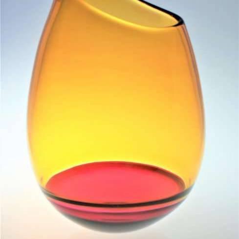 Large Oblique Vase (BCR424/19)