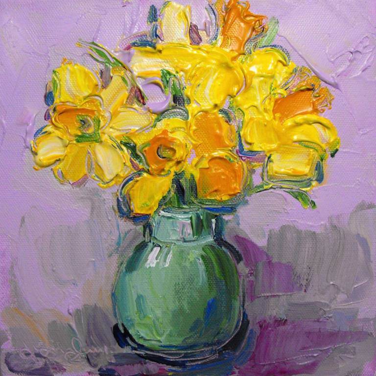 Judith Bridgland - Daffodils from my Garden