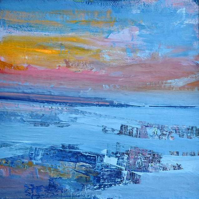 Mairi Clark - Sunset At Low Tide