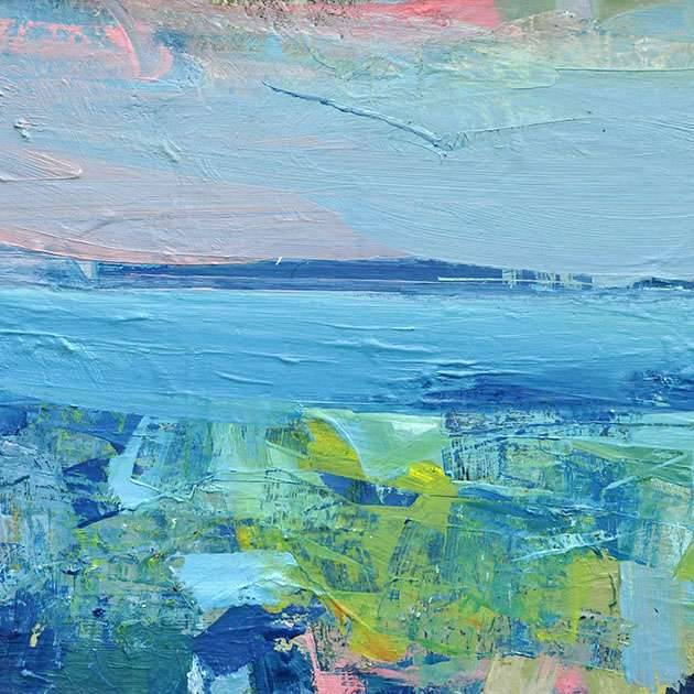Mairi Clark - Early Evening Across The Firth Of Forth