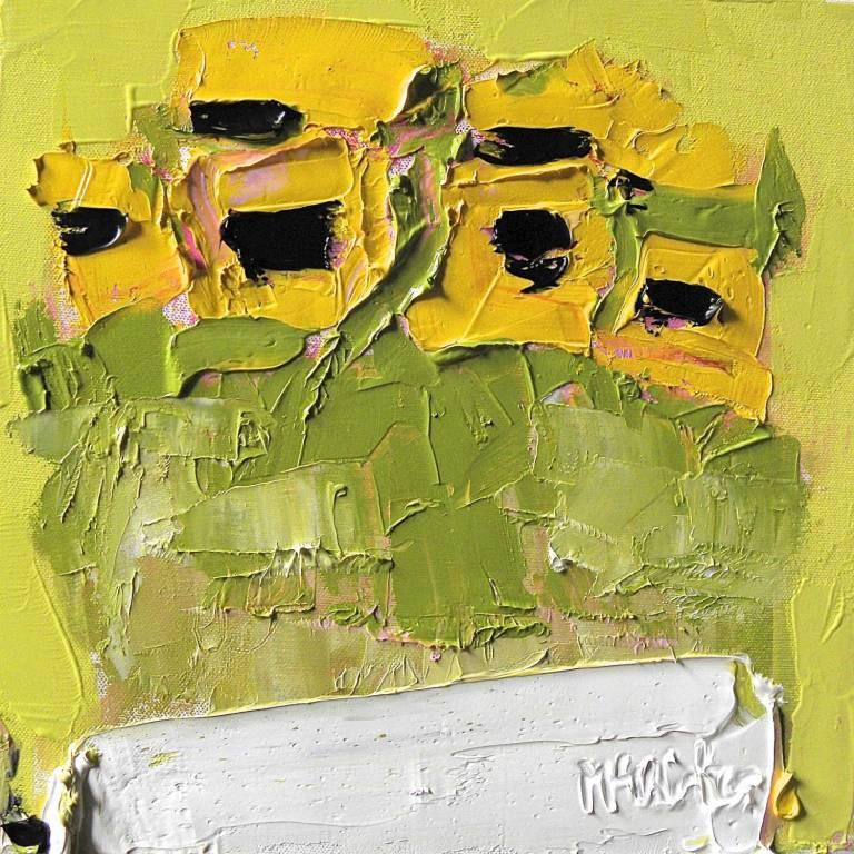 Alison McWhirter - Garden Sunflowers