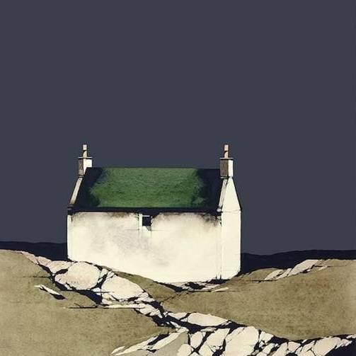 Barra Cottage Dark Sky (Framed Limited Edition Print)