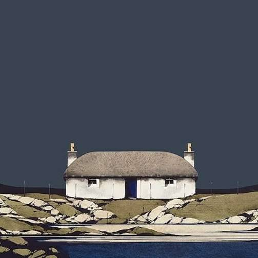 Ron  Lawson Prints - Hebridean Thunder (Framed Limited Edition Print)