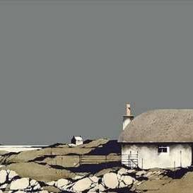 Ron  Lawson Prints - Lochboisdale, South Uist (Framed Limited Edition Print)