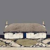 Ron  Lawson Prints - Uist Thatched Cottage (Framed Limited Edition Print)