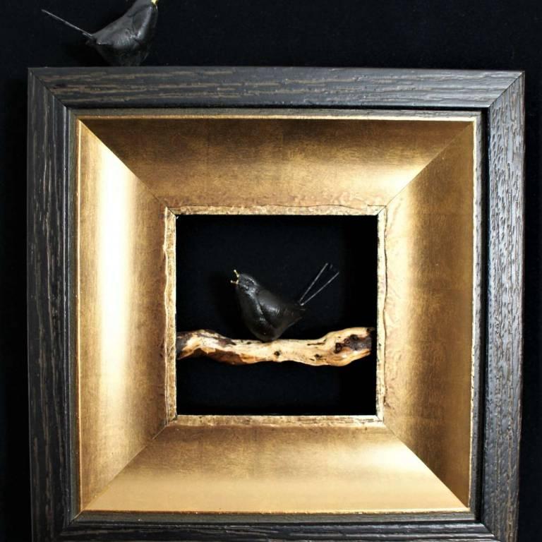 Blackbirds On A Bough