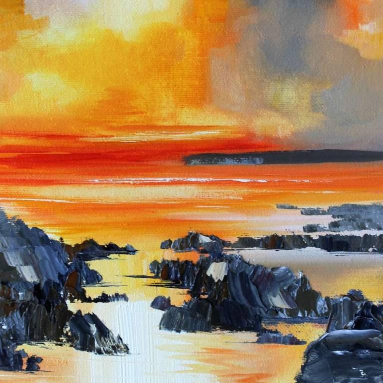 Rosanne Barr - A Glowing Sunset