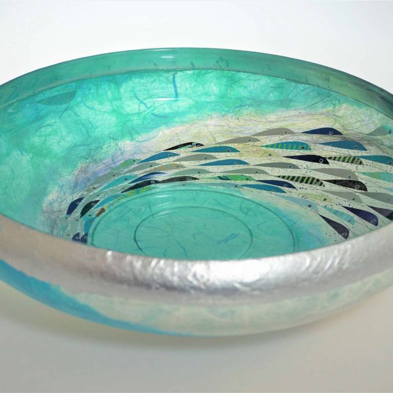 Margaret  Johnson - Very large Pool Bowl