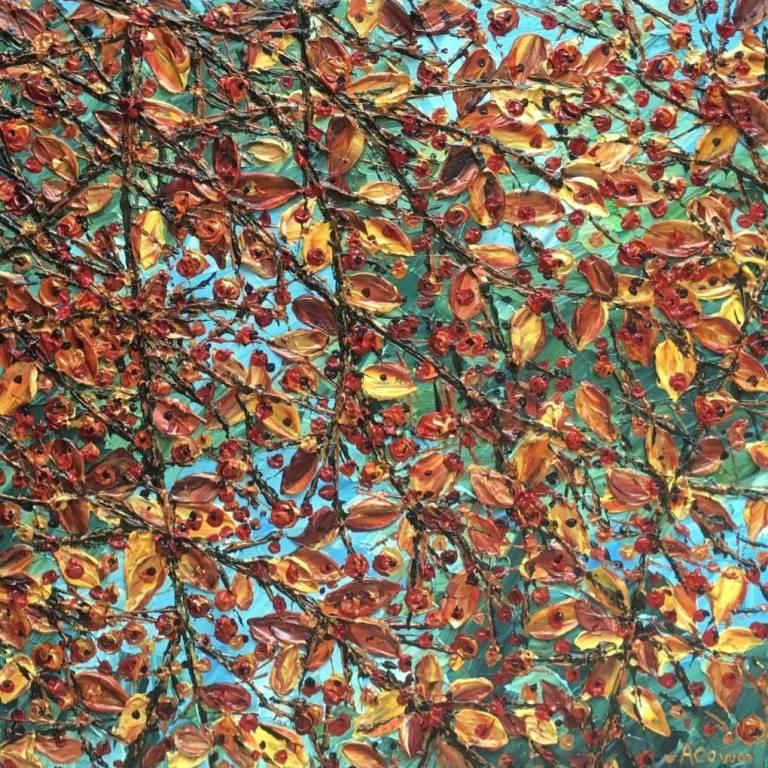 Alison Cowan - Berries & Leaves