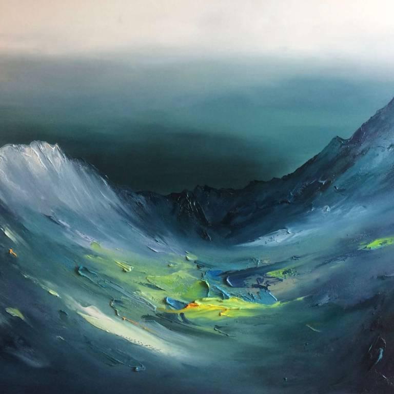 Linda Park - Foreboding Skies, Glen Brittle, Isle Of Skye
