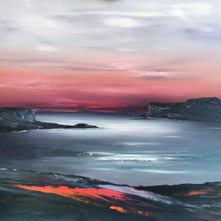 Linda Park - Loch Bracadale Aglow, Isle Of Skye