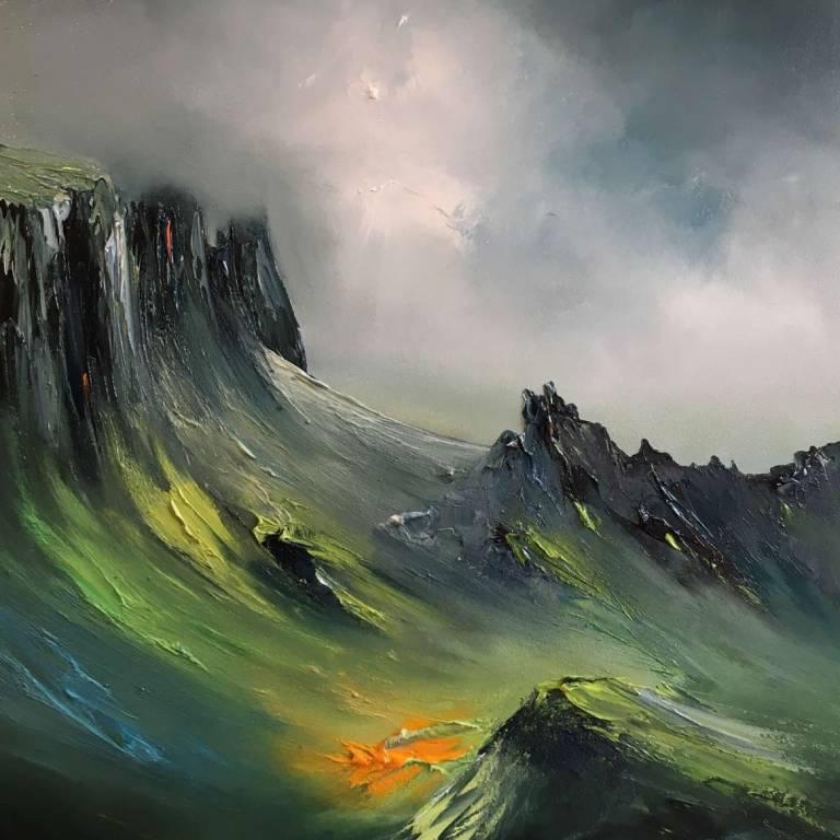 Linda Park - Shrouded In Mist, Quiraing, Isle Of Skye