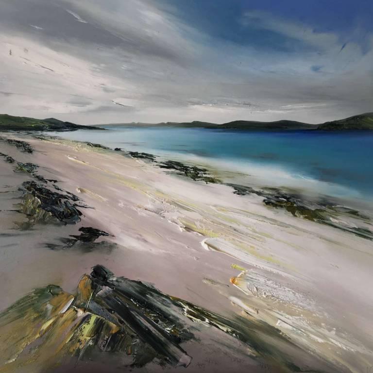 Linda Park - Textures, Claigan Beach, Isle Of Skye