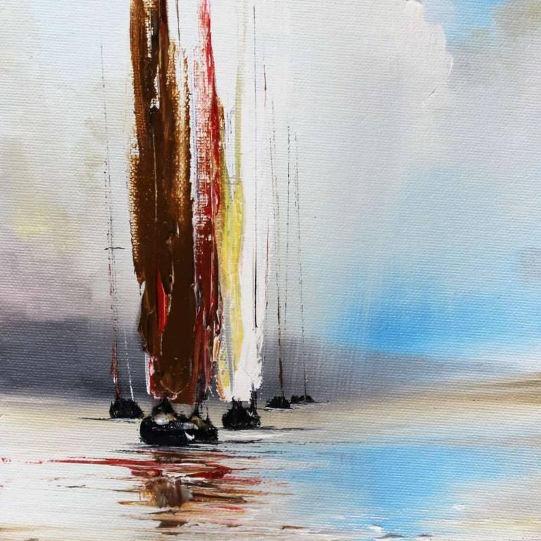 Sailing In Rain Showers