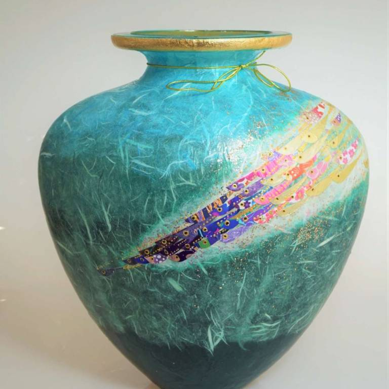 Margaret  Johnson - Heart Shaped Vase