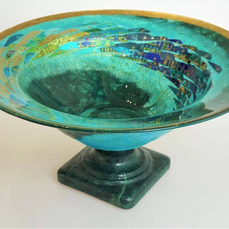 Margaret  Johnson - Pedestal Bowl
