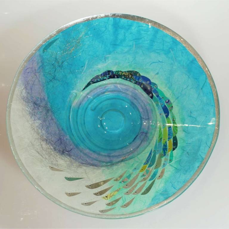 Margaret  Johnson - Large Swirl Plate