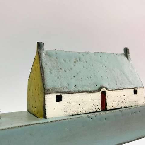Pauline  Montgomery - Long Blue Roof