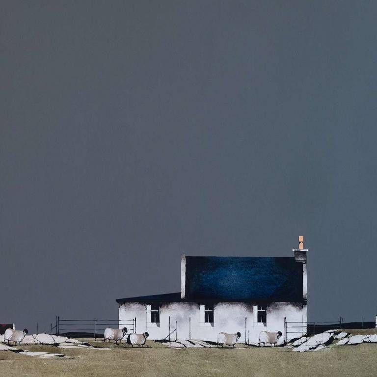 Ron  Lawson - Balevullin Cottage, Tiree I