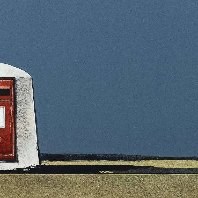 Ron  Lawson - Tiree Post Box