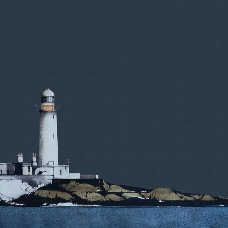 Ron  Lawson - Eilean Musdile Lighthouse, Lismore