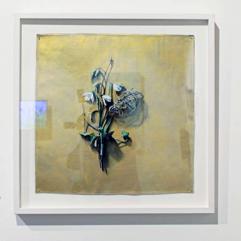 Kirsty Lorenz - Votive Offering No. 53 - Snowdrop on Gold