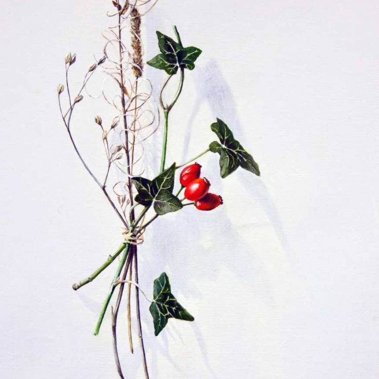 Kirsty Lorenz - Votive Offering No. 55 - Rosehip and Ivy