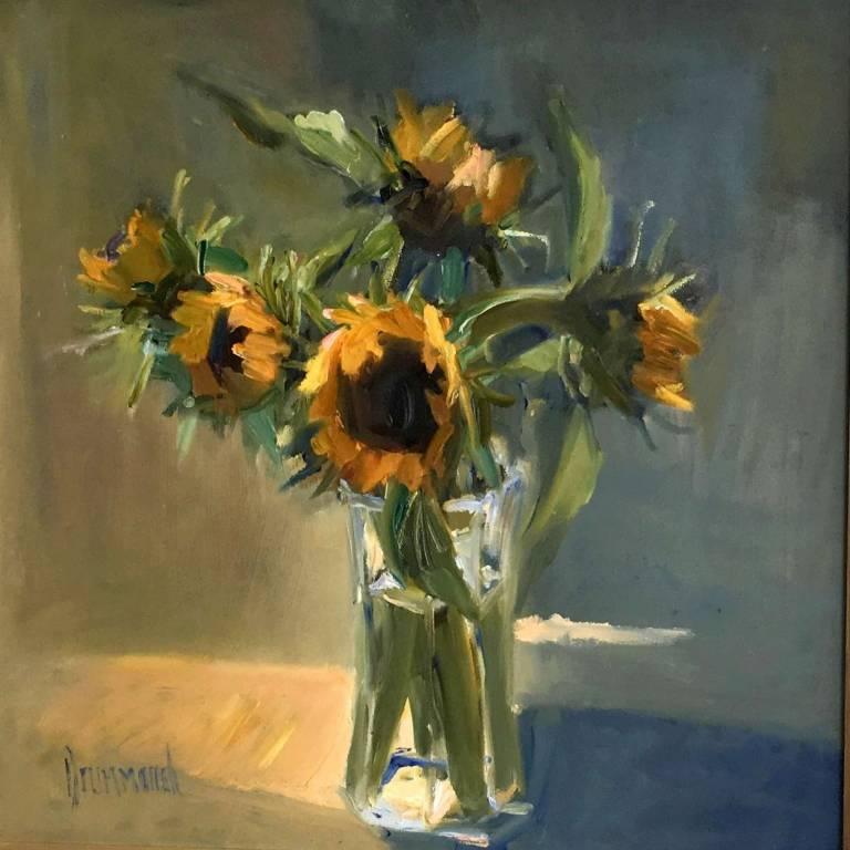 Marion Drummond PAI - Sunflowers