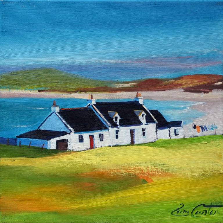 Pam Carter - Black Roofs, Balephuil