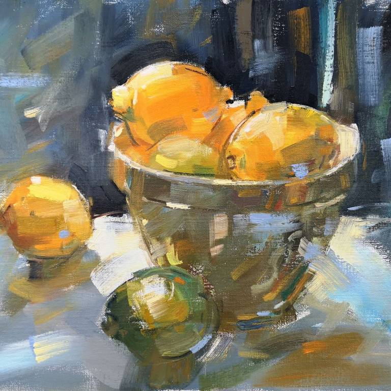 Peter Foyle - Bowl of Lemons