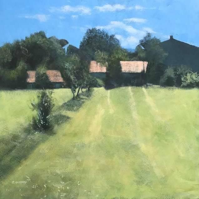 Peter Nardini - Farm with Trees, Umbria