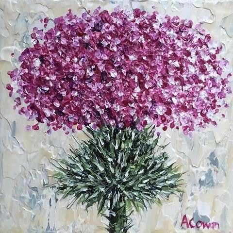 Alison Cowan - Prickly Wee Thistle