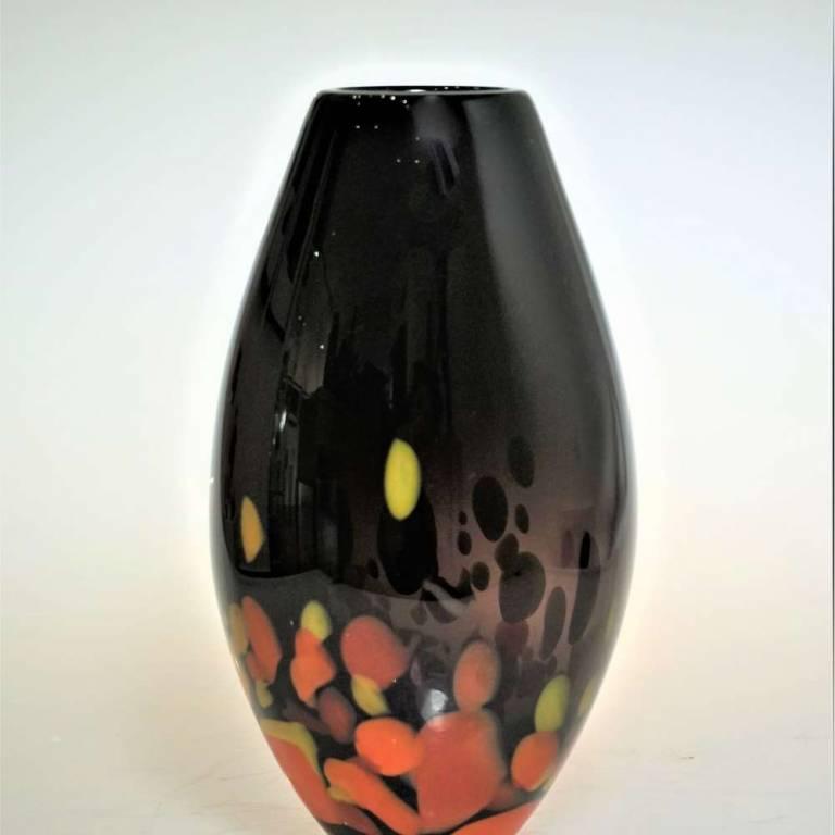 Kalki Mansel - Orange Galaxy Vase