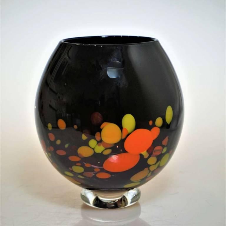 Orange Galaxy Bowl