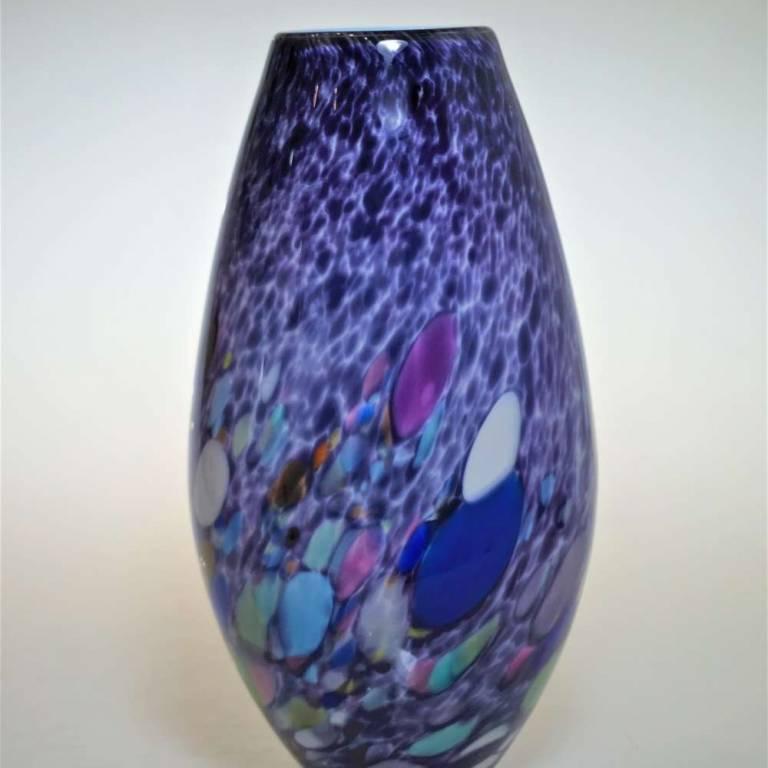 Purple galazy Vase