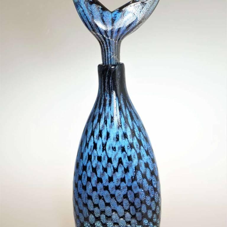 Mermaid Blue Fishtail Bottle