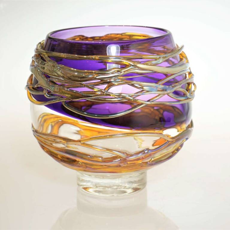 Allister  Malcolm - Golden Trailing Bowl Medium