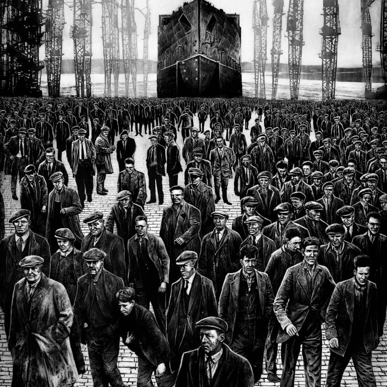 Ryan Mutter - The Grafters (Limited Edition Print)