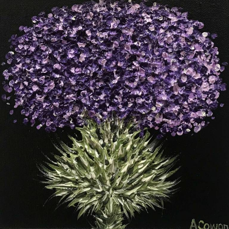 Alison Cowan - Purple Patriot