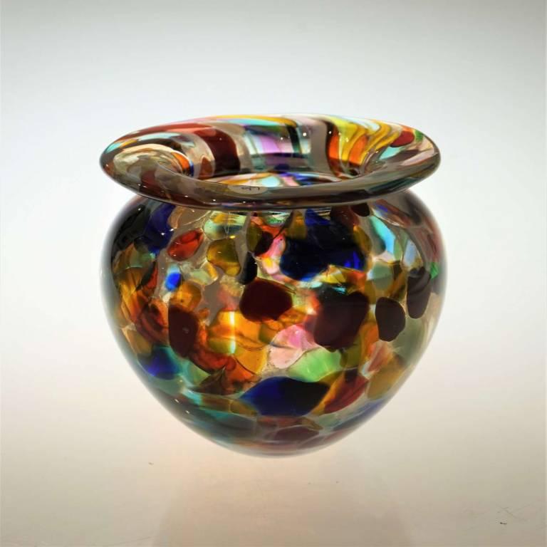 Short Gaudi Urn Vase